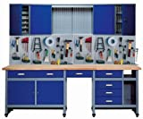 Küpper 70412–7 Set für Werkstatt, 240cm, hergestellt...